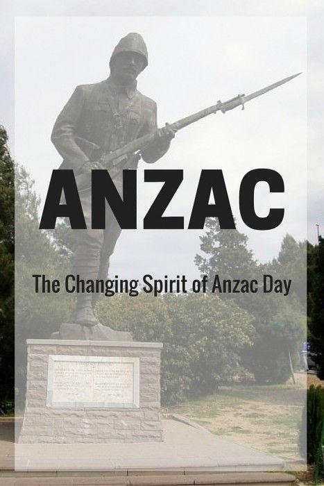 The Changing ANZAC Spirit