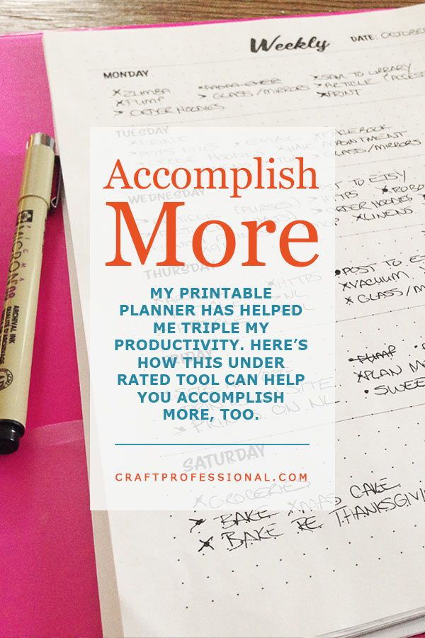 daily planners the under rated tool that changed my business