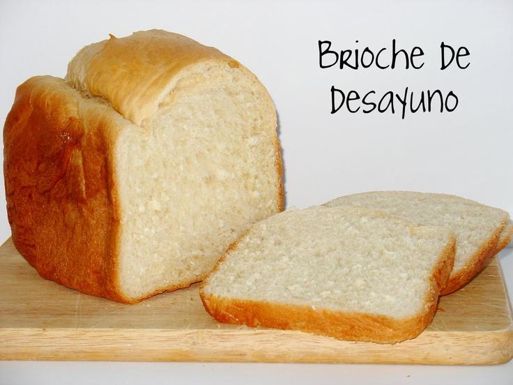 Brioche de desayuno (panificadora)