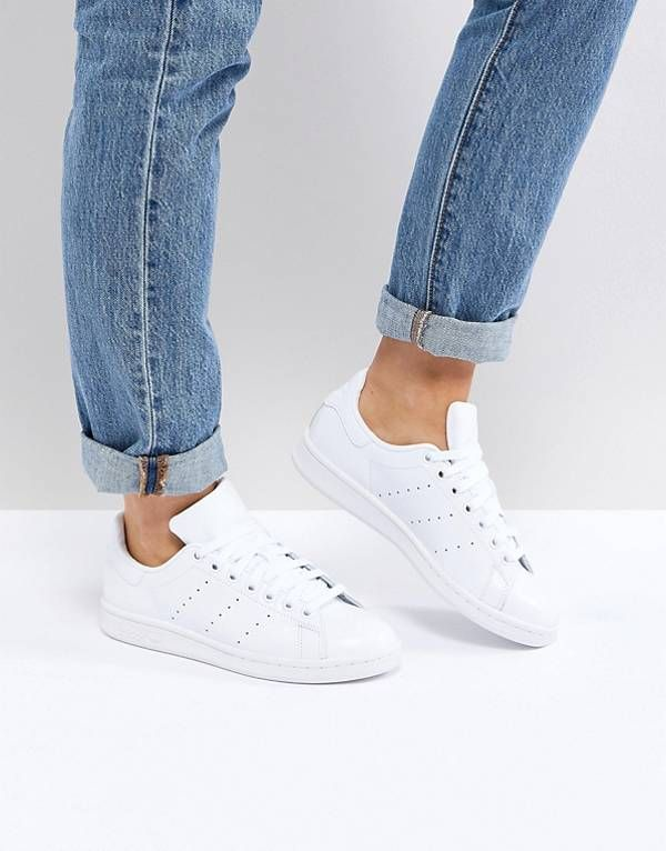 cheap sale recognized brands delicate colors adidas Originals All White Stan Smith Sneakers | All white ...