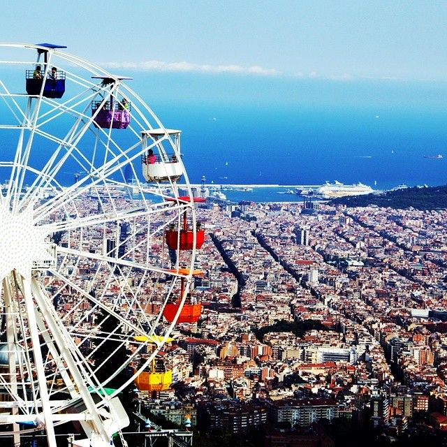 Tibidabo - Barcelona, Spain