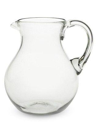 Clara Glass Pitcher #williamssonoma