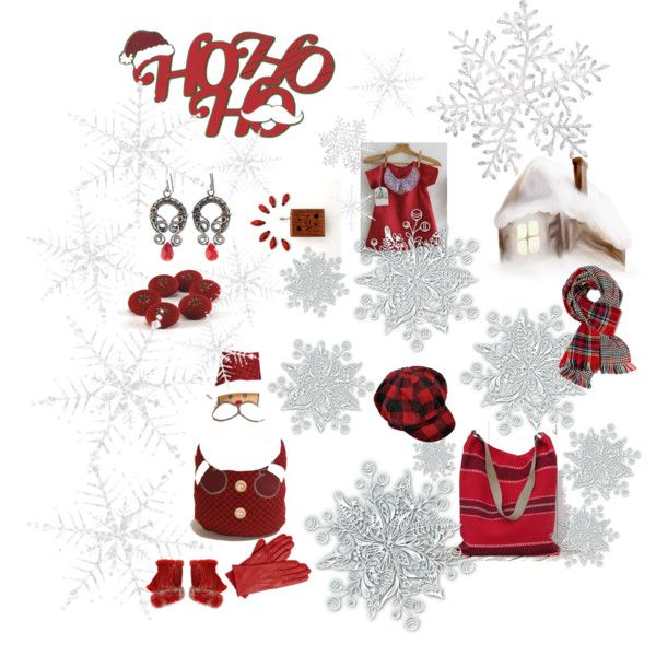 """Santa Claus is coming"" by skbags on Polyvore"