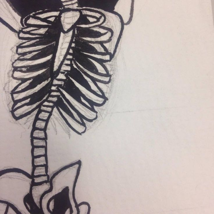 18. Being able to block in the small details between the ribs proved difficult as the gaps got very small. I'm happy I chose to use my watercolour brush pens for this as they were very handy for being able to really fill in the tiny spaces.