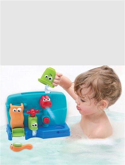 Lavabo à moulin Glu-glu My Bath MULTICOLORE - vertbaudet enfant