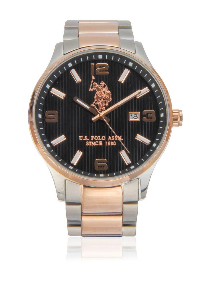 US Polo Association Reloj con movimiento cuarzo japonés Man Herald 44 mm en Amazon BuyVIP
