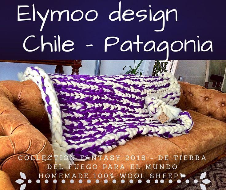 Homemade designed Chile- Patagonia#pieceras xxl 🐑En Porvenir-Tierra del Fuego-Desde el fin del mundo para ti 🐑