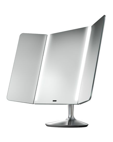 The makeup mirrors by SimpleHuman are amazing! Cost is substantial, but if you are a makeup addict like me, they're worth every penny.