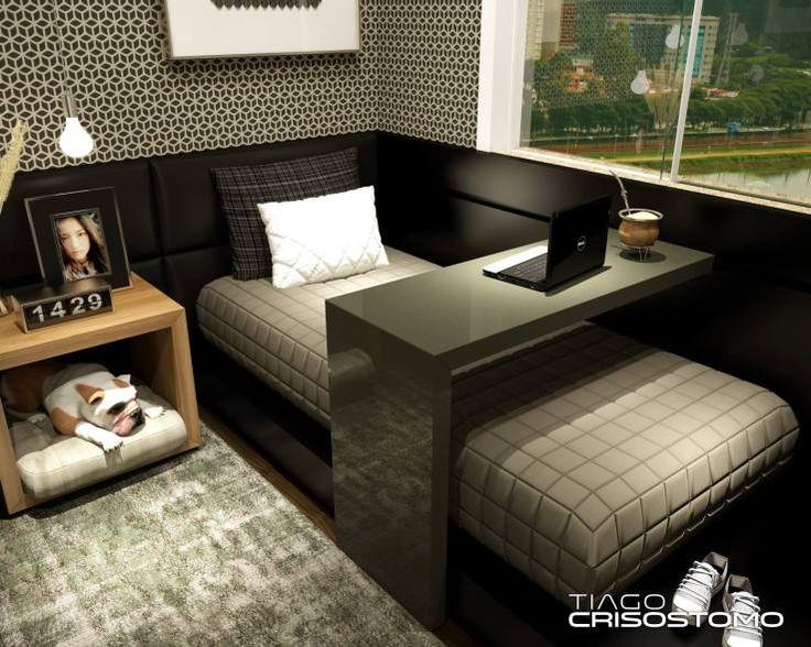 +1000 ideias sobre Dormitório no Pinterest Dormitórios  ~ Quarto Pequeno Para Homens