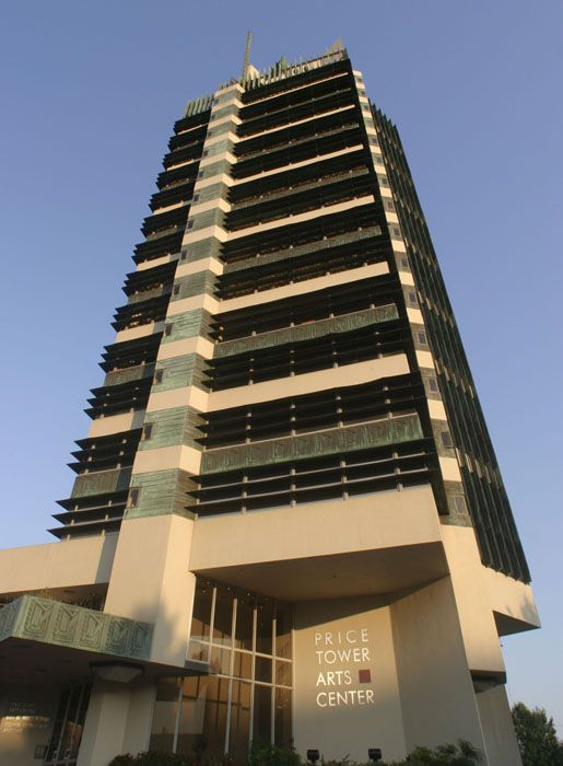 25 best images about wright frank lloyd l price tower on for Frank lloyd wright bartlesville