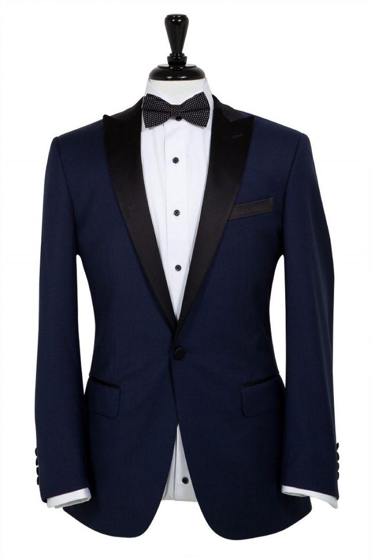 Navy Blue Tuxedo - Super 130s 100% Wool