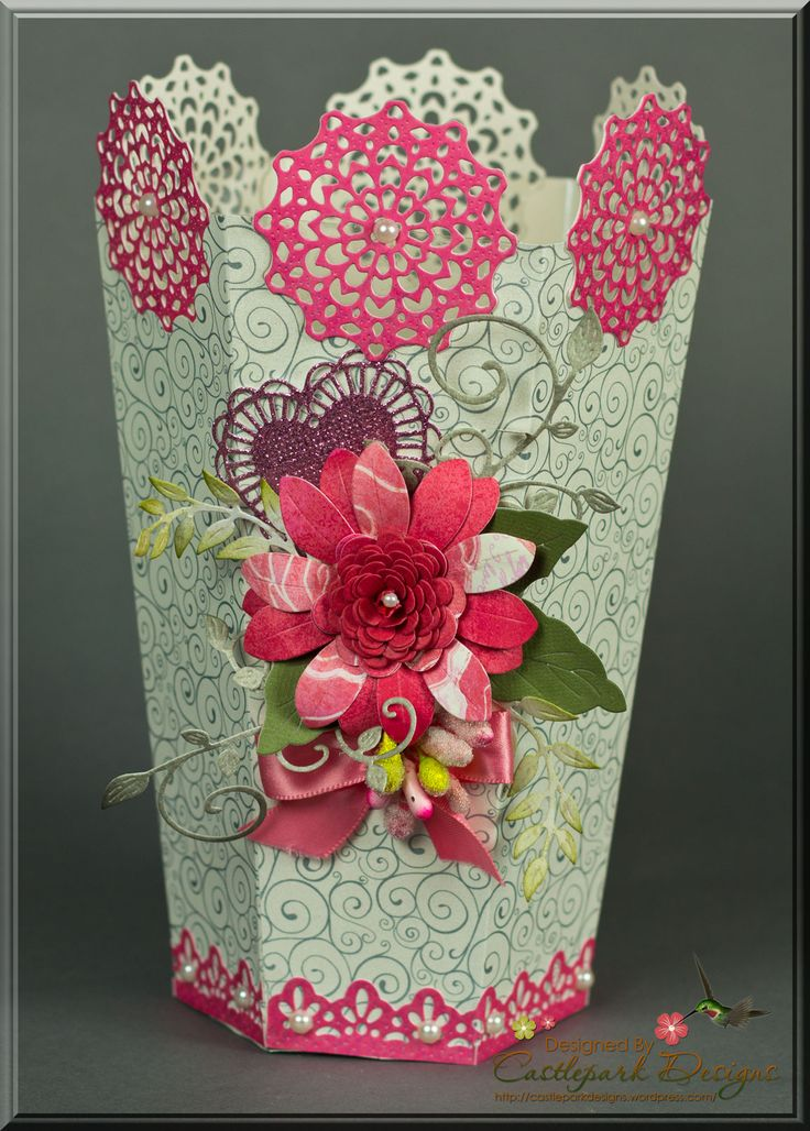 Flower Vase Making With Paper