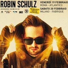 Robin Schulz arriva in Italia per due show unici. Acquista subito il tuo biglietto su TicketOne.it!