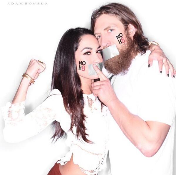 Brie Bella and Daniel Bryan!! WWE