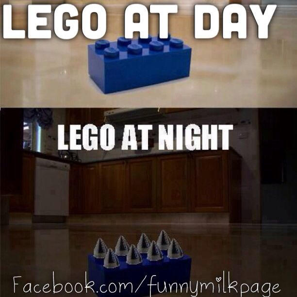 On Your Children Leave Their Legos Out At Night Doesn T