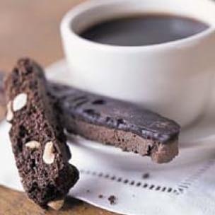 Chocolate-Hazelnut Biscotti