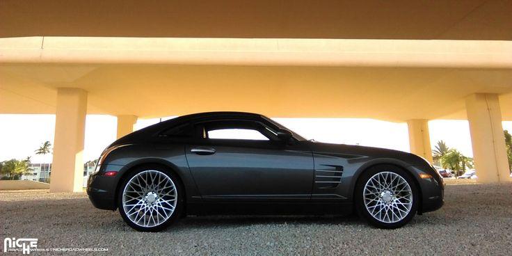 photo 1 Chrysler  Crossfire custom wheels Niche Citrine - M161 18x8.0, ET , tire size 235/40 R18. 20x10.5 ET 255/30 R20