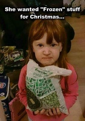 Now that December is here it's time to start any Christmas shopping that's left. Don't let your kid be like this angry little girl, shop at Humor Us and smiles will be guaranteed!