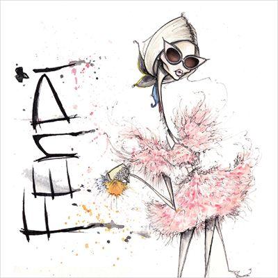 3 Canadian Fashion Illustrators You Need to Know—Jamie Lee Reardin