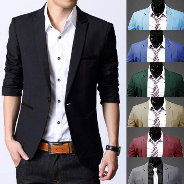 Mens Fashion Clothings Blazer