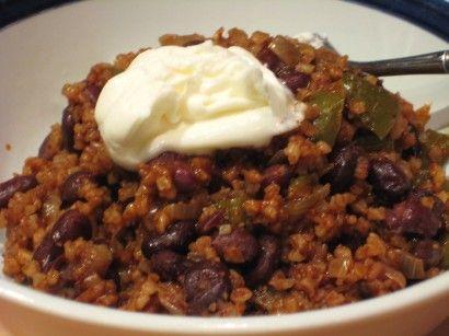 Bulgur and Black Beans | Tasty Kitchen: A Happy Recipe Community!