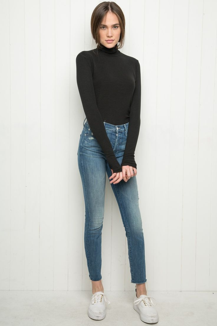 Brandy ♥ Melville | Johan Turtleneck Top - Clothing
