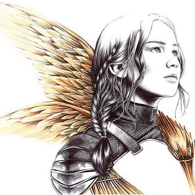 this is sooo good 😍❤️ #KatnissEverdeen #TheMockingjay #Katnisss