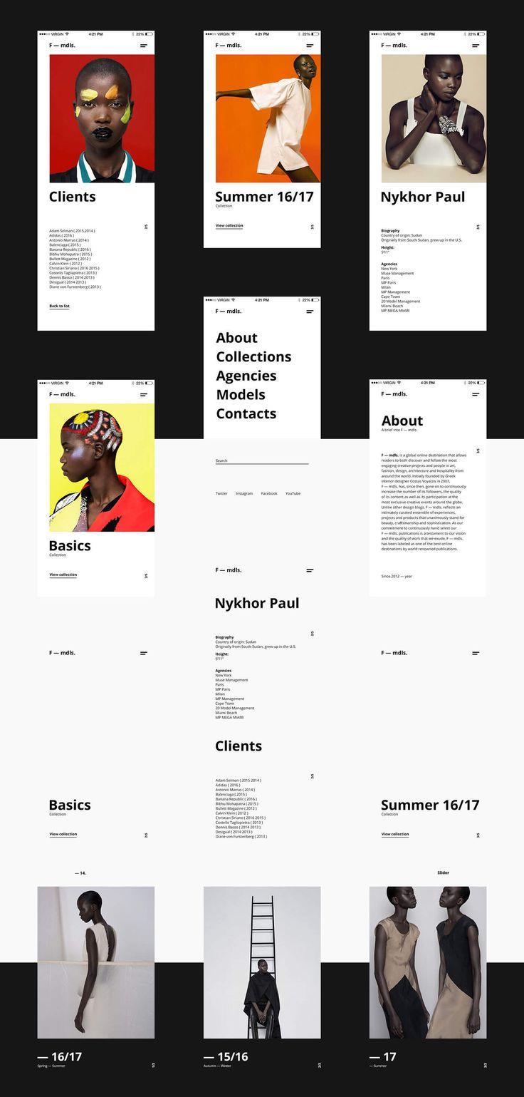 mdls website design - responsive design #ui #ux #userexperience #webdesign #website