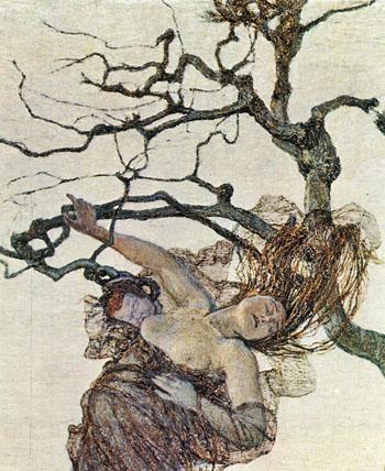Giovanni Segantini The Bad Mothers