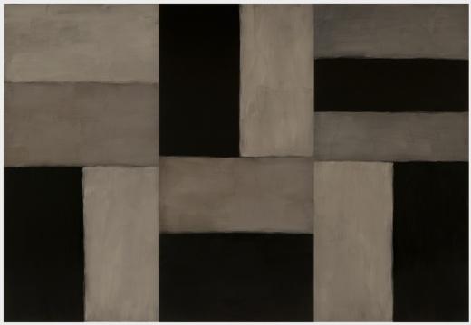 Sean Scully: Doric Angel  2011  Oil on aluminum  109.9 x 159.9 in (279.1 x 406.1 cm)