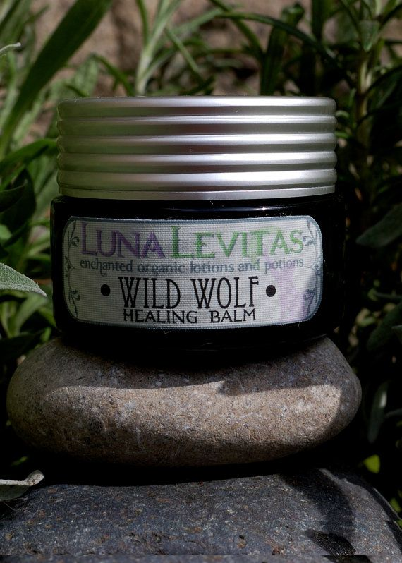 Wild Wolf Organic Healing Balm ArthritisPainful by LunaLevitas