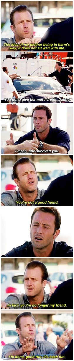 hawaii five 0 mcdanno scott caan alex o'loughlin h50: 4x16 steve's 'come on baby don't be like that' hands really make this