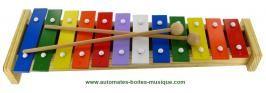 Instruments de musique traditionnels Instrument de musique pour enfant : instrument de musique xylophone 12 notes