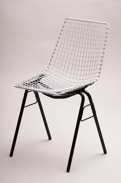 Henryk Sztaba, połowa lat 70, krzesło siatkowe