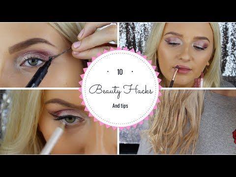10 Beauty hacks every girl should know #beautyhacks #10beautyhacks #diyhacks #beauty #makeuphacks