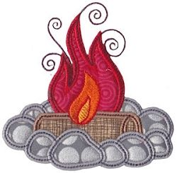 Camping Applique 1, SWAK Pack - 2 Sizes! | Camping | Machine Embroidery Designs | SWAKembroidery.com Bunnycup Embroidery