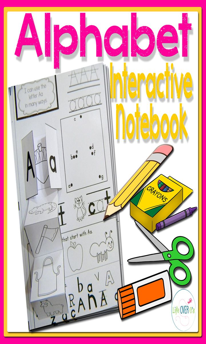 A fun alphabet interactive notebook for letter recognition and phonetic awareness. Tracing, multiple font recognition, and multiple phonetic awareness opportunities on each page. $