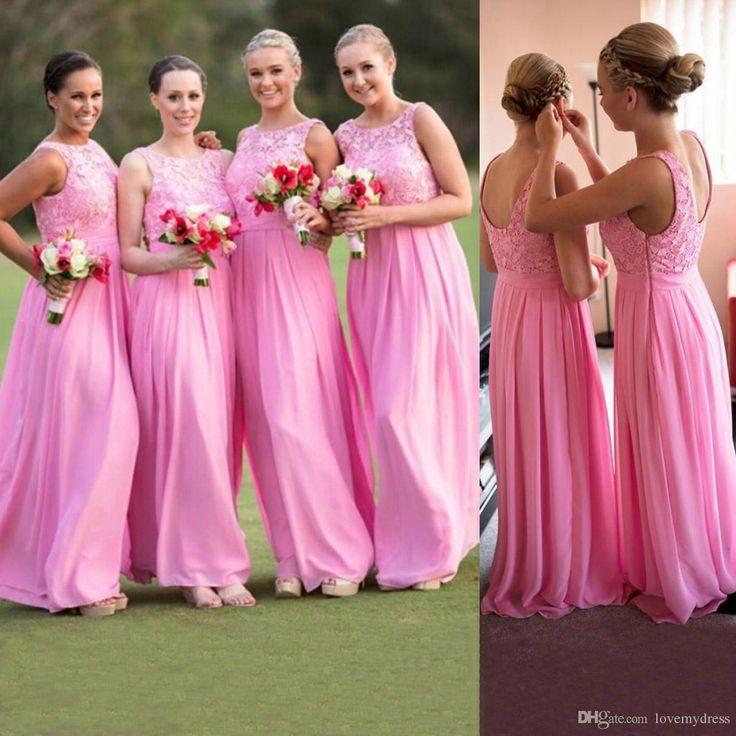 Mejores 207 imágenes de bridesmaid dresses en Pinterest | Casamento ...