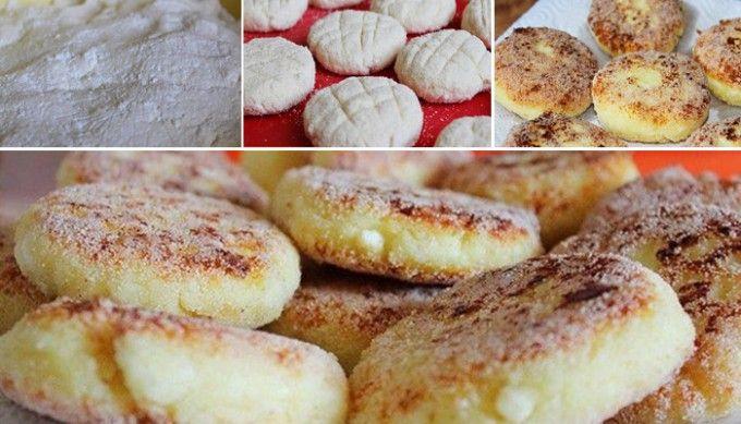 Tvarohové koláčky s dětskou krupicí bez mouky | NejRecept.cz