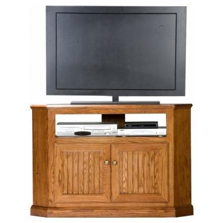 eagle furniture heritage 46 in tall corner tv stand