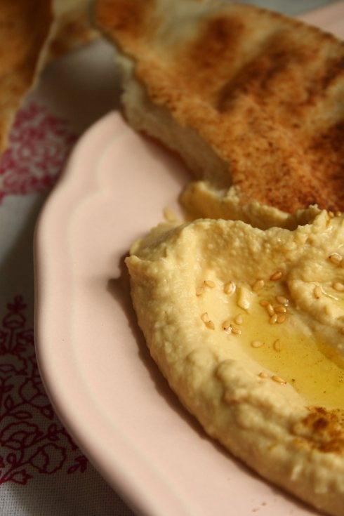 Really Good Hummus Recipe... mouth. watering.
