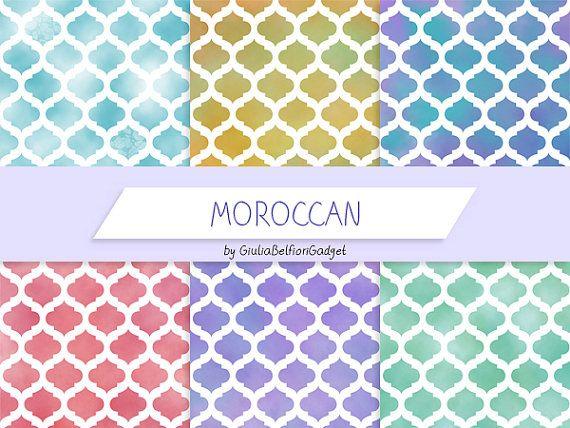 Carta digitale carta marocchina motivo di GiuliaBelfioriGadget