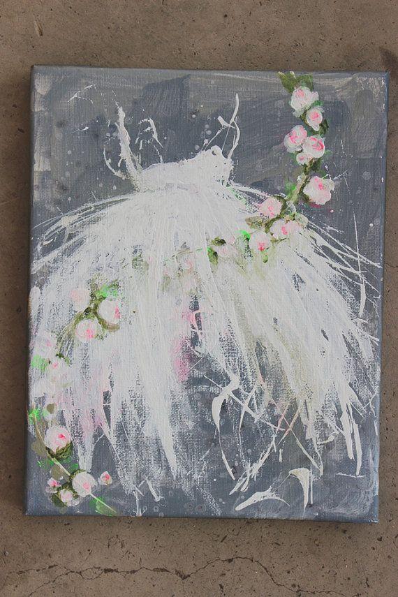 original tutu roses ballerina ballet dress old by fadedwest,
