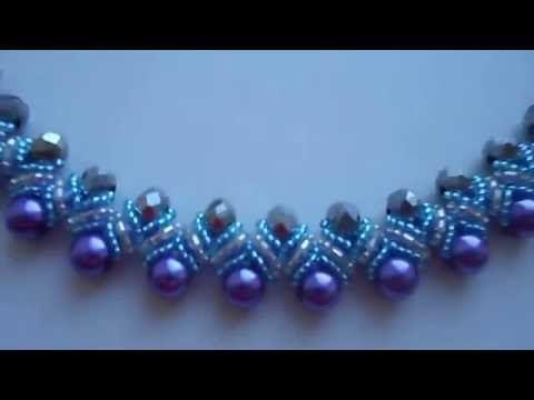 #колье #ожерелье #своими_руками #рукоделие #бисер #бусины - YouTube