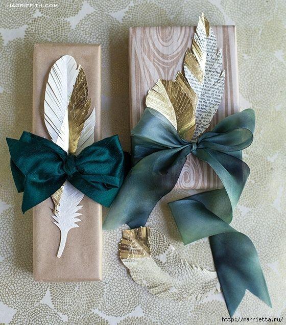 Подарочное оперение (подборка) / Упаковка подарков /: