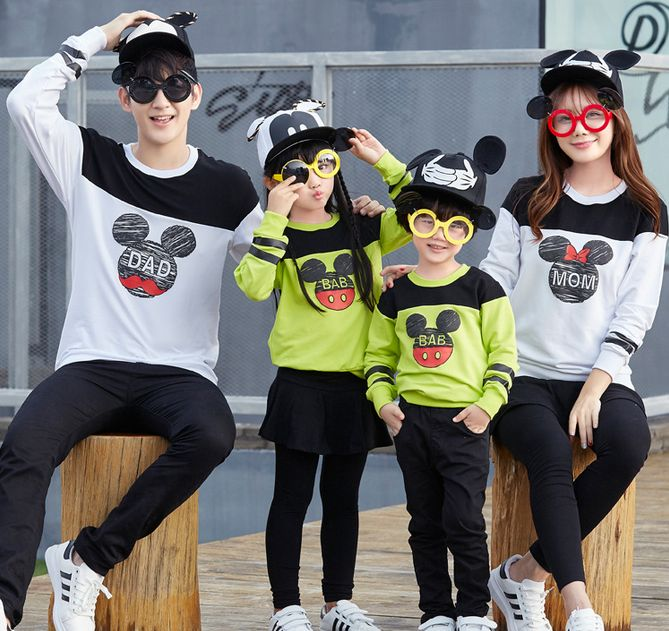 Find More Family Matching Outfits Information about Family fitted 2016 Fall mother son outfits long sleeve sweatshirts Dad Mom Kids t shirts Couples clothing,High Quality t-shirt slim,China t-shirts hanes Suppliers, Cheap clothing denmark from juxuan on Aliexpress.com