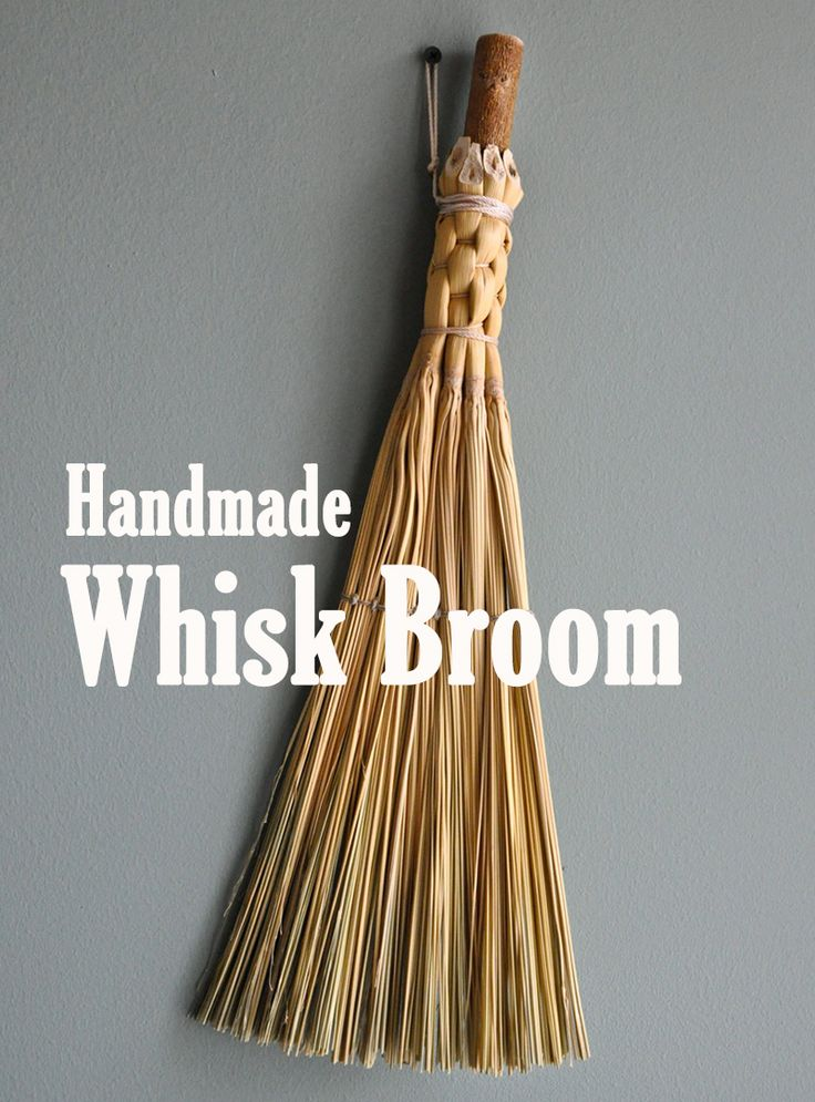 Use your farm-grown broomcorn to make a handy tool for cleaning up messes around the farm or home.