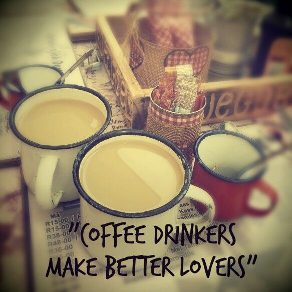 Loving my editor ... coffee drinkers make better lovers ♡♡