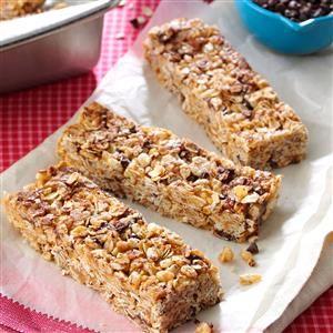 Granola Cereal Bars Recipe