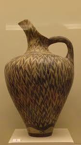 Prochus di stile vegetale, ca 1700-1450 a.C. Terracotta. Da Zakro. Iráklion, Museo Archeologico.
